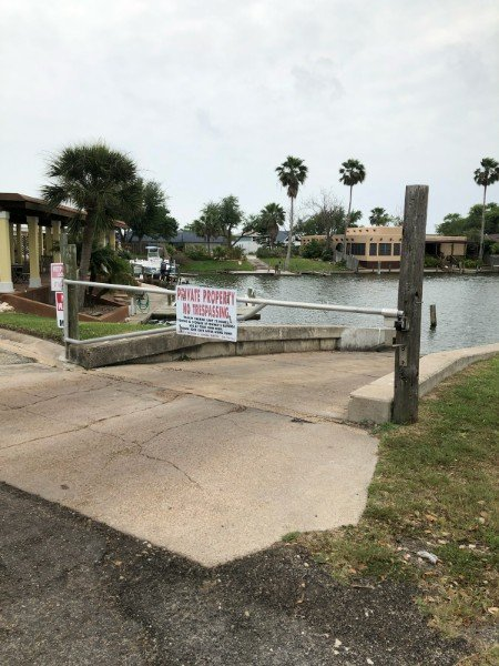 harbor oaks boat ramp closing