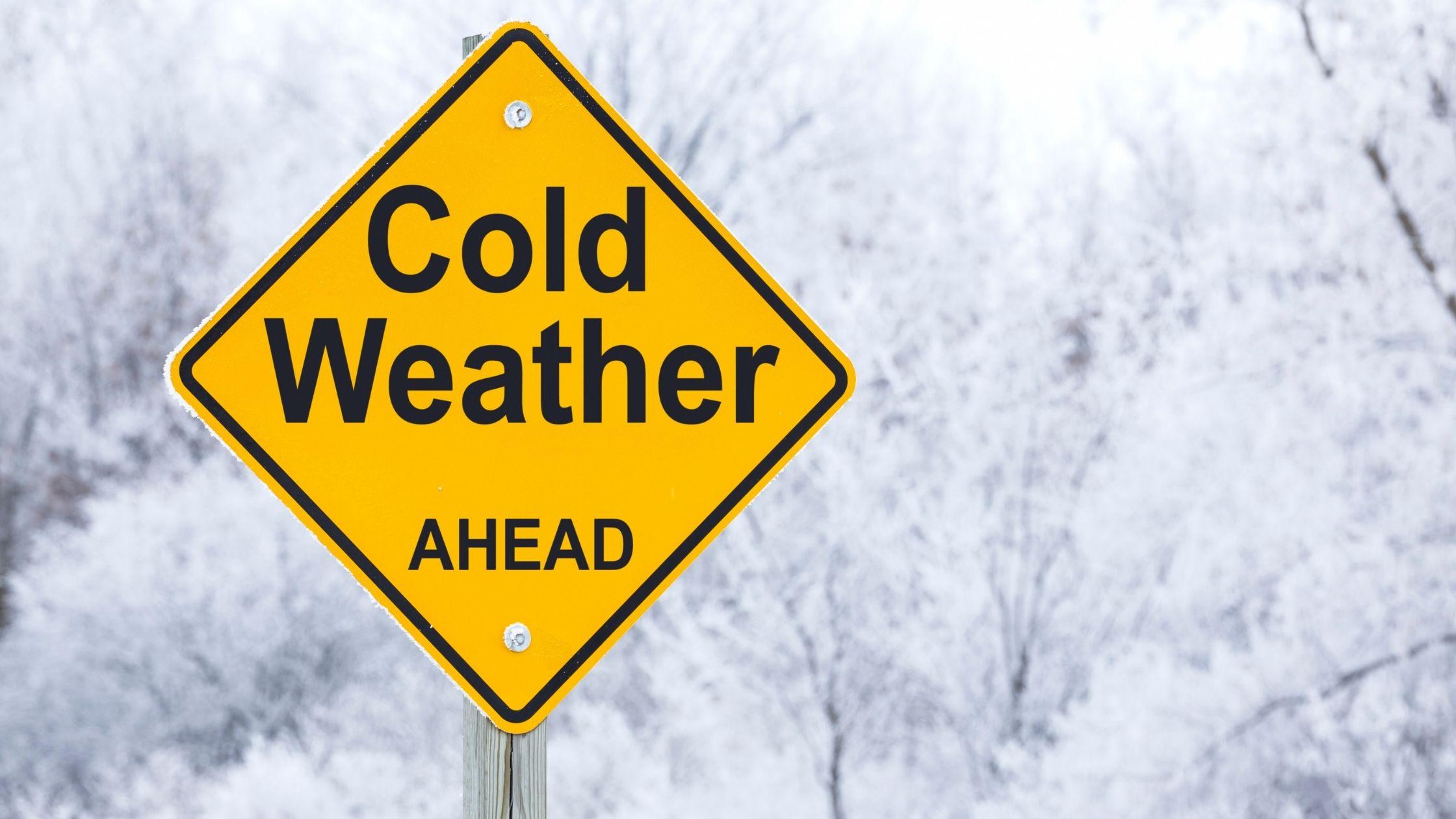 freeze warning for rockport